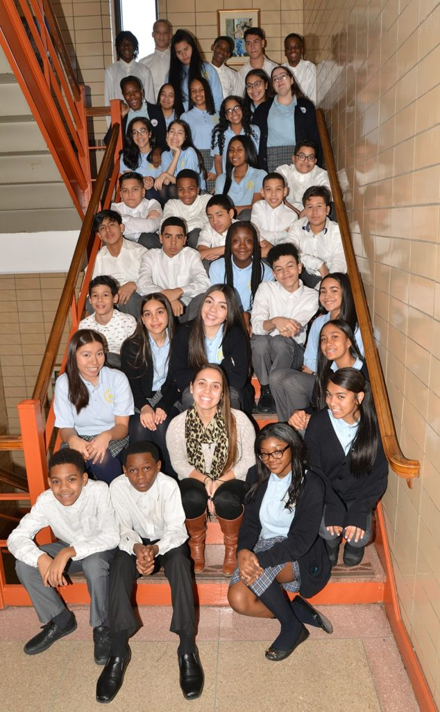 Salve Regina Catholic Academy students