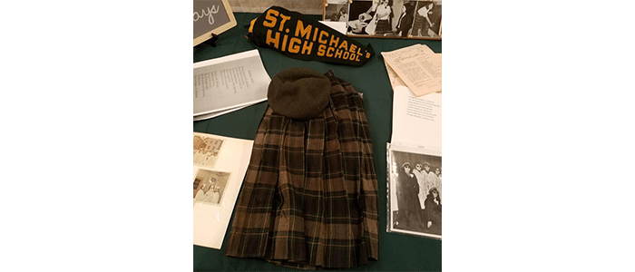 uniform and other artifacts